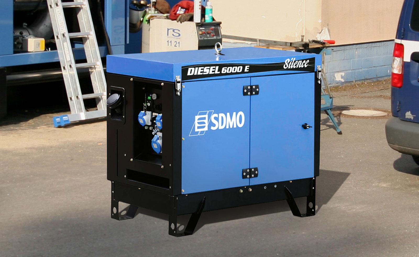 Mobiler Stromerzeuger von SDMO